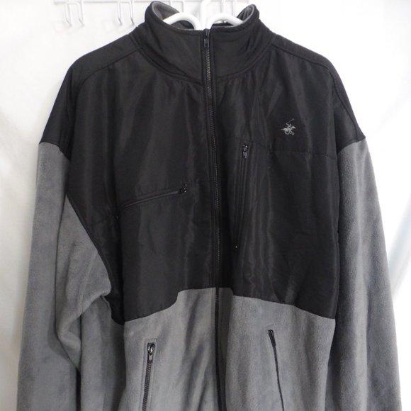 BEVERLY HILLS POLO CLUB, XXL, fleece jacket, BNWT